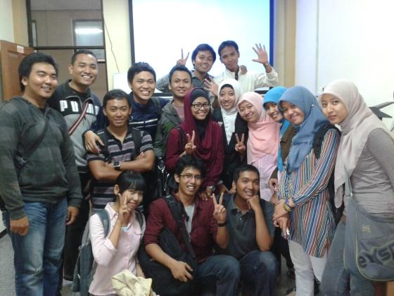 Alhamdulillah..lulusan pertama kelas A Ilmu Komputer Abgkatan 2007