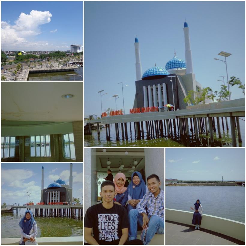 Masjid Apung -  Amirul Mukminin