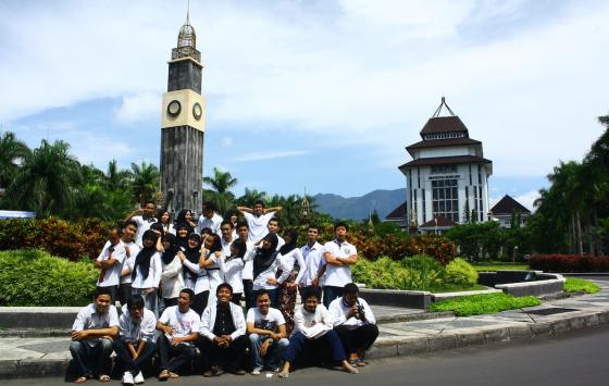 Teman-teman Kelas A Ilmu Komputer UB angkatan 2007